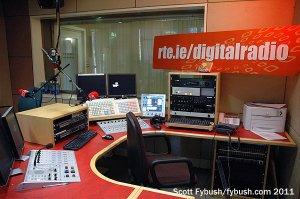 An RTE digital studio
