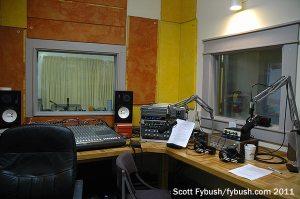 WFHB production studio