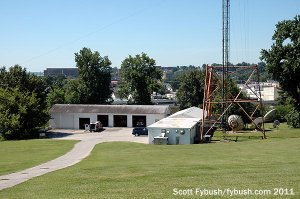 WIKY's transmitter builidng