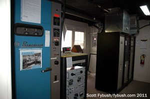 The WITZ AM/FM transmitter room