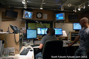 The FM News studio