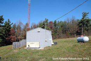 WFLR's transmitter building