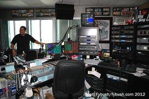 KPWR's Big Boy studio