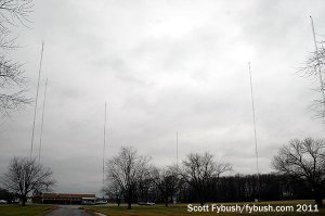 The AM 1550 towers