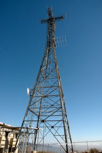 The KSIQ booster tower