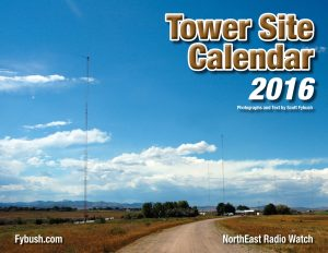 2016 TOWER SITE CALENDAR