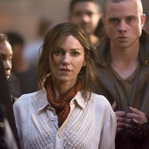 Evelyn Eaton and Edgar in Insurgent