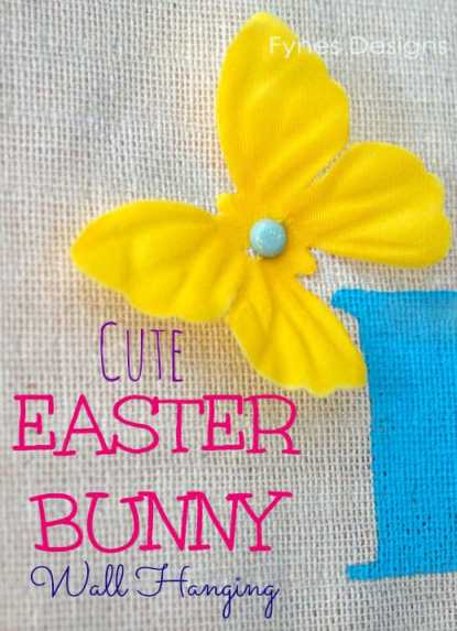 Cute Easter decoration ideas from fynesdesigns.com