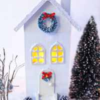 Easy DIY Christmas Village