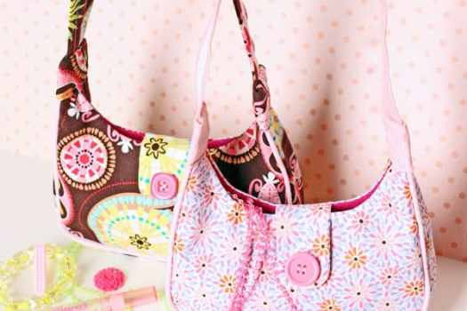 Free girls purse sewing pattern