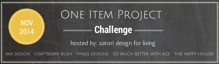 One Item Project Challenge 2014