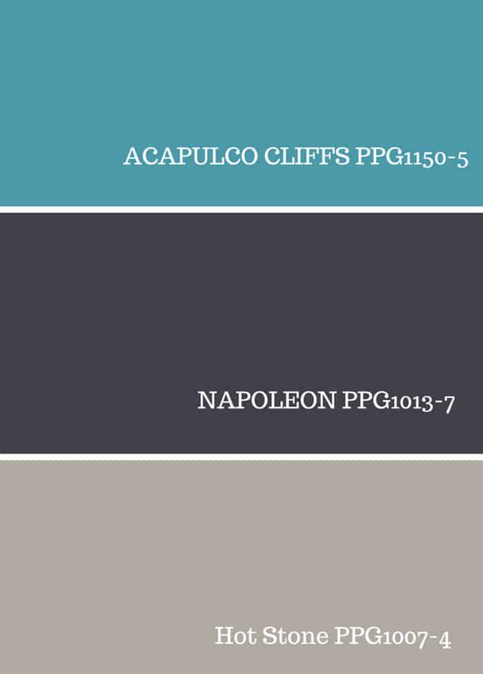 Color inspiration from PPG Voice of Color