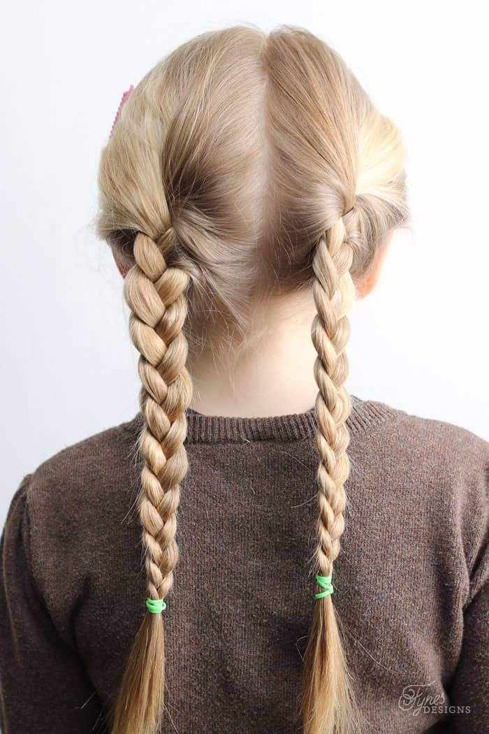 5 Minute School Day Hair Styles Fynes Designs Fynes