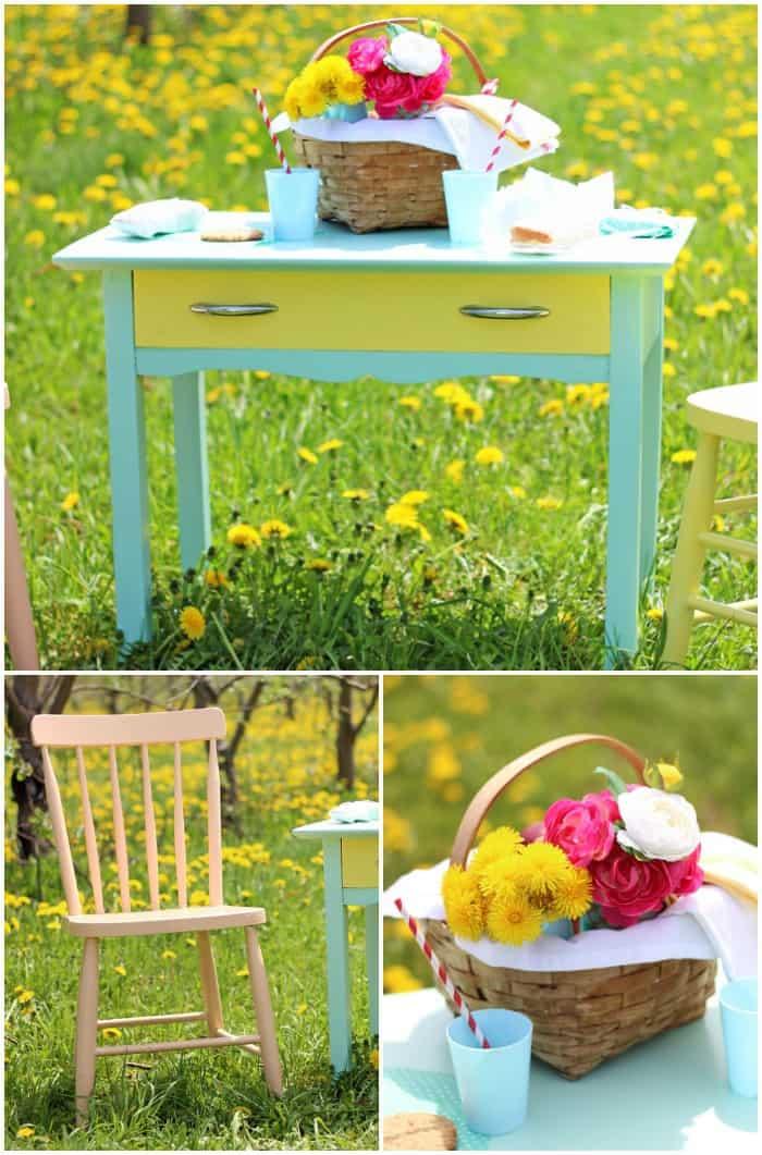 Summer Inspired Painted Furniture Fynes Designs Fynes Designs