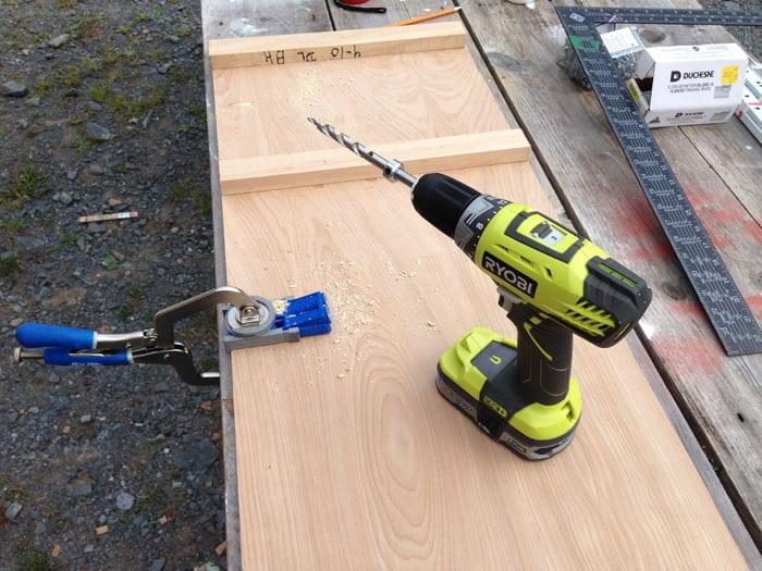 kreg jig for building furniture