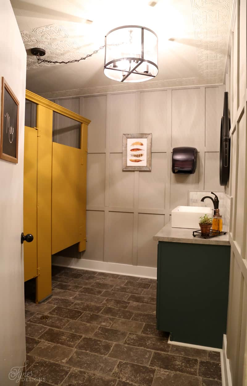 Restaurant bathroom makeover fynes designs fynes designs for Restaurant restroom design ideas