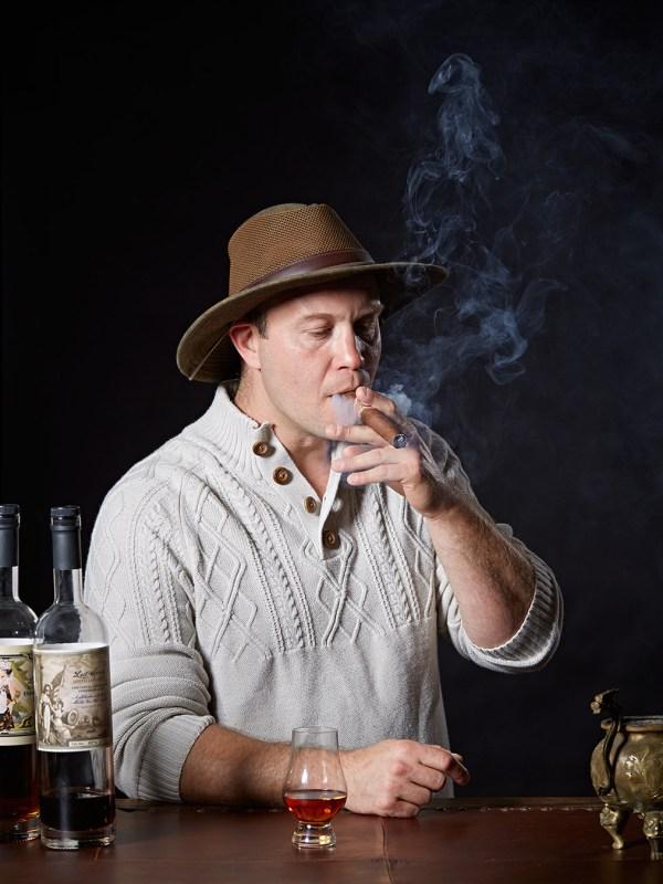 Brian Davis of Lost Spirits Distillery in Monterey, California for WIRED.