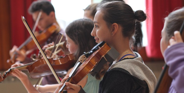 Fiddle Band Workshop 2016