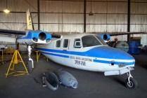 Aerocommander 500 del IPEM 258 (foto: Mauricio Chiófalo).