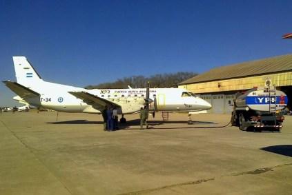 Saab SF-340B de la IX Brigada Aérea (foto: Esteban Brea).
