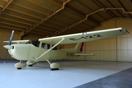 La principal novedad de las puertas abiertas de Rancagua: Uno de los dos Cessna 172S adquiridos en EE.UU. en 2014 (foto: Carlos Ay).
