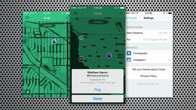 Cloak: The anti-social app