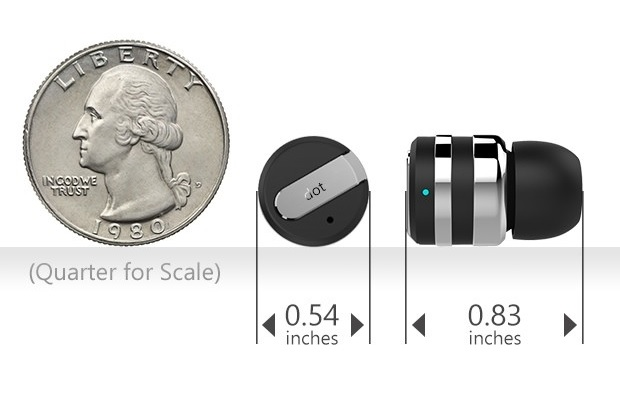 Dot, The World's Smallest Bluetooth Headset