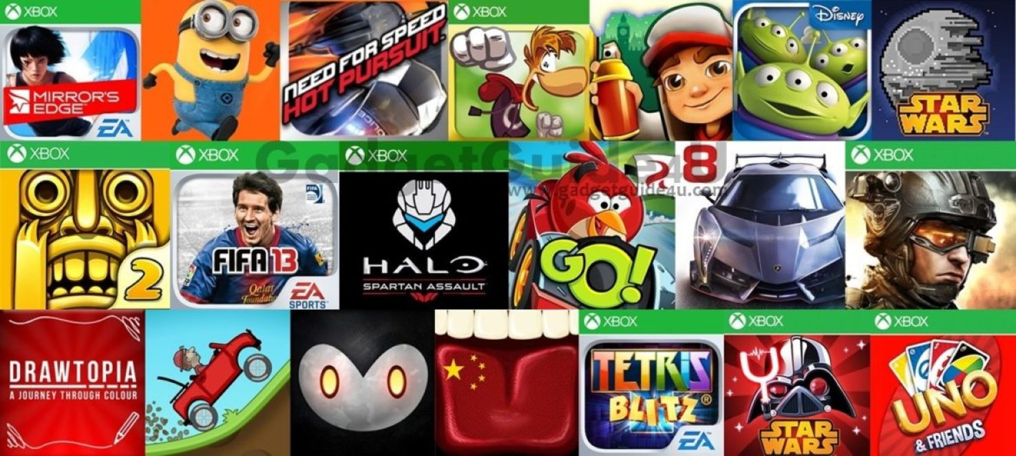 best games for Windows Phone 8