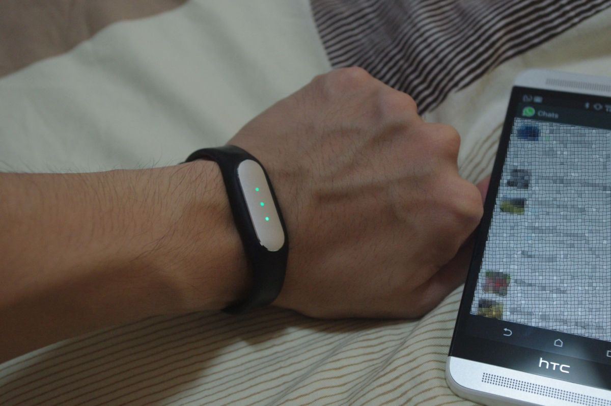 Never Miss a WhatsApp Notification with the Mi Band