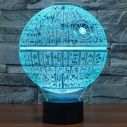 Small Of Star Wars Night Light