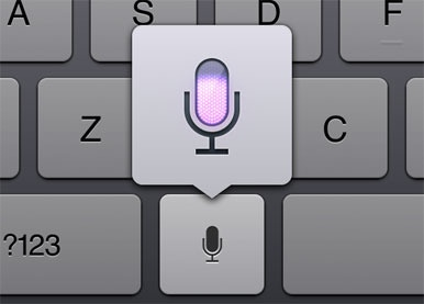 iPad dictation