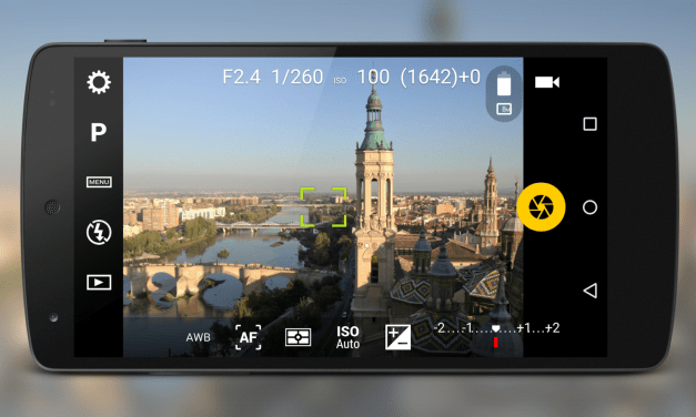 Camera FV-5: DSLR experience with your android