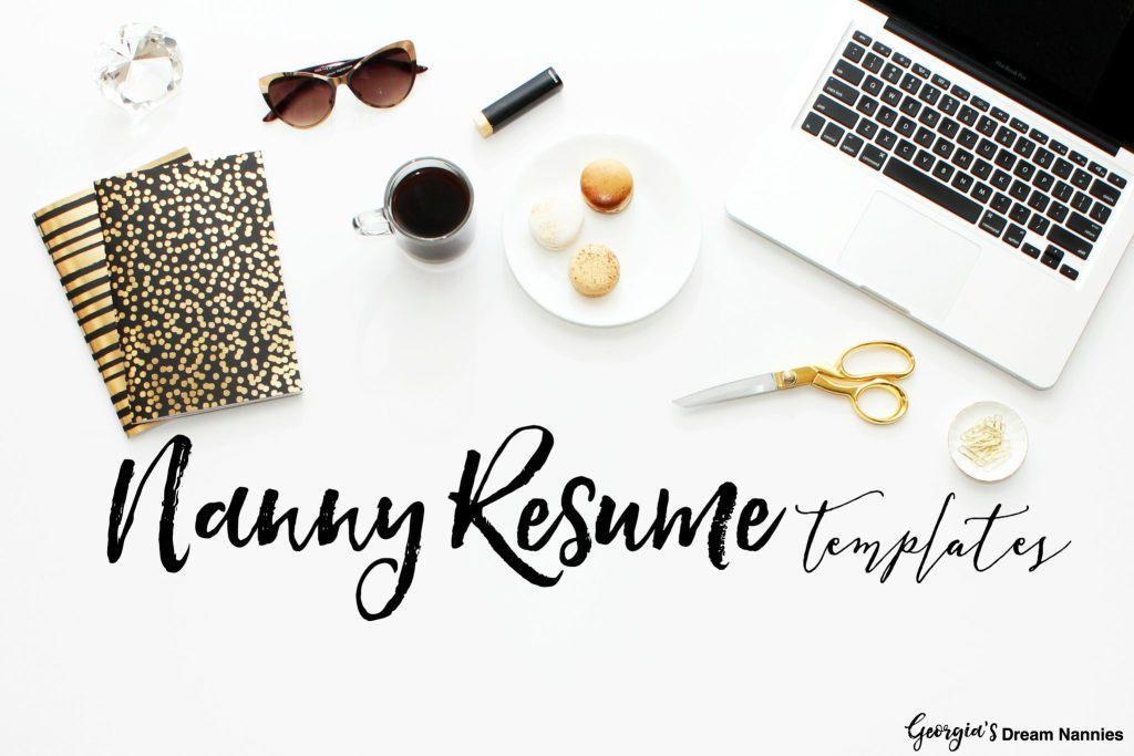 nanny resume cover letters