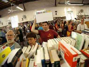 Fall Book Sale Starts Saturday – Friends of the Library 2014
