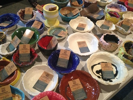 Empty Bowls Lunch Event for Bread of the Mighty