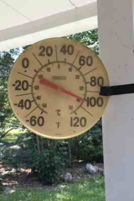 It's TOO Hot to See Homes Today