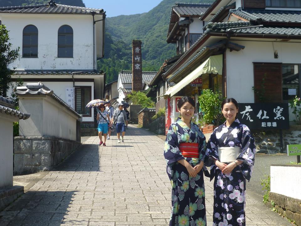 浴衣で散策♬風情あふれる伊万里焼の街、大川内山