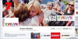 Facebook Evelyn Matthei