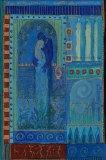 petite chanson d'amour 19 acryl op papier op paneel 30 x 20 cm