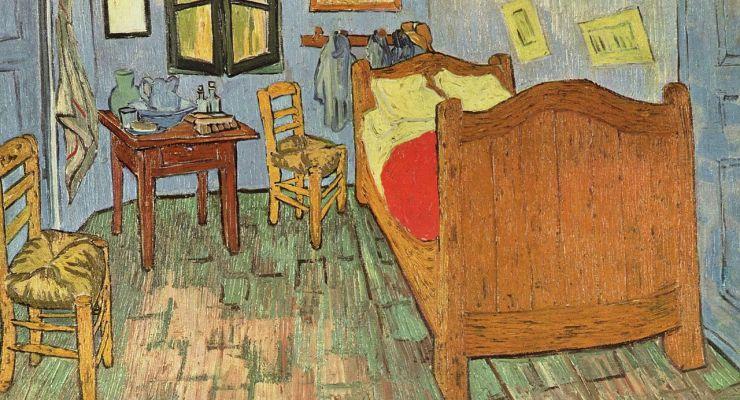 Van gogh nei suoi colori originali galileo - Van gogh la camera da letto ...