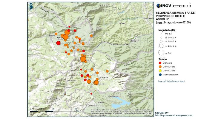 Terremoto, Ingv: sisma dovuto a movimento estensionale Appennino