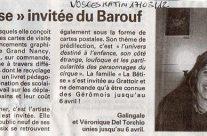 Vosges Matin, 17 mars 2012