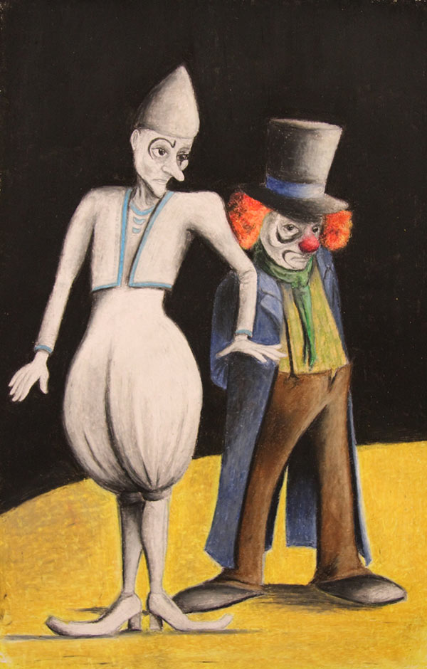 Clown Auguste et Clown Blanc