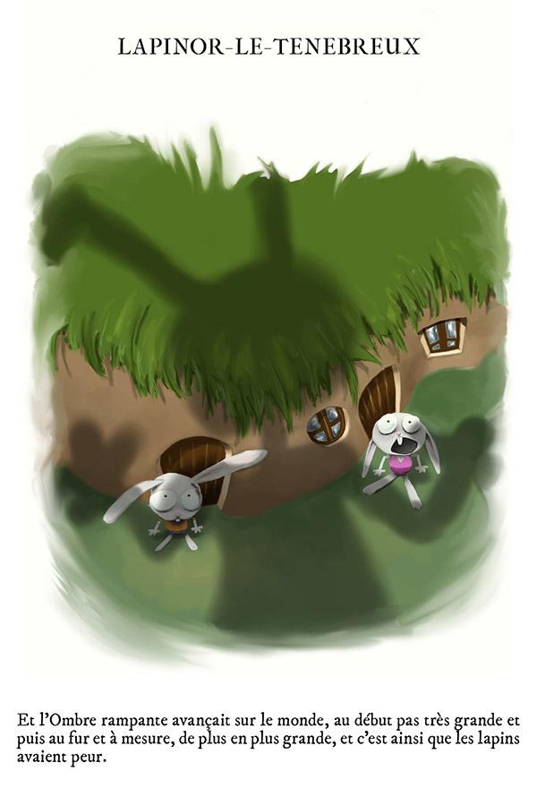 Démon du lapin maléfique