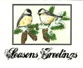 Seasons Greetings Birds
