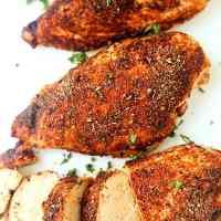 Baked Cajun Chicken Breasts