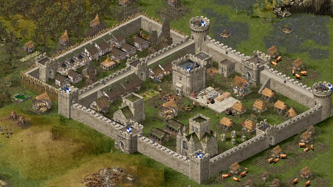 Top 10 Mittelalter Games - Stronghold