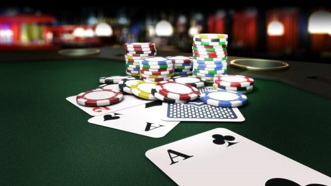 Online Poker Tisch