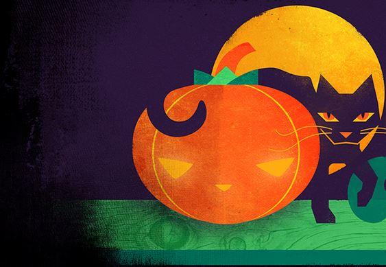 Game-2-wünscht-Happy-Halloween-Steam-Logo-der-Halloween-Aktion-Katze