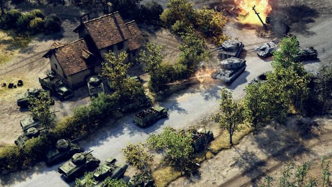 Sudden-Strike-4-–-Panzerschlacht-Shermans-gegen-Deutsche-Tanks